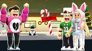 WE DECORATE OUR HOUSE FOR CHRISTMAS Romelerso Cerso Roblox Roleplay