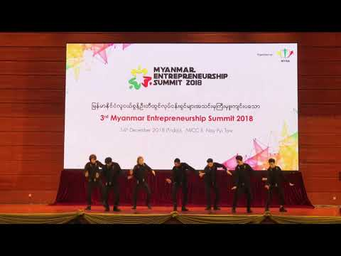 Live Perform Never Fall Down Dance And Our State Counsellor Aung San Su Kyi Talk About Project K
