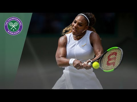 Match Point: Serena Williams vs Carla Suarez Navarro Wimbledon 2019