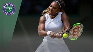 Match Point: Serena Williams vs Carla Suarez Navarro Wimbledon 2019
