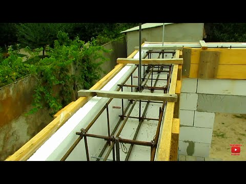 Дом с Нуля Часть 4 АРМОПОЯС первого этажа