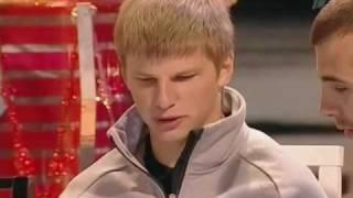 Arshavin in TV Projektorperishilton (English subtitles)