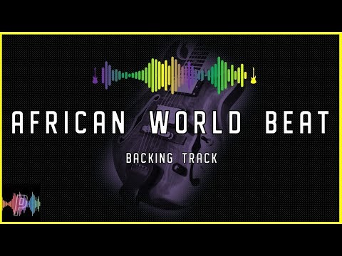 C Major 🎸 World Beat African Guitar Backing Track