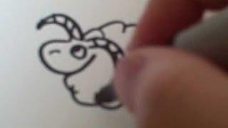 Pk Pk How to Draw a Cartoon Ram