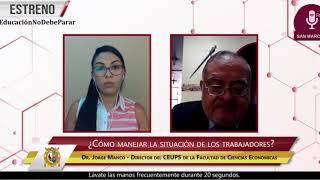 Tema: Situación económica del país explicada por Jorge Manco