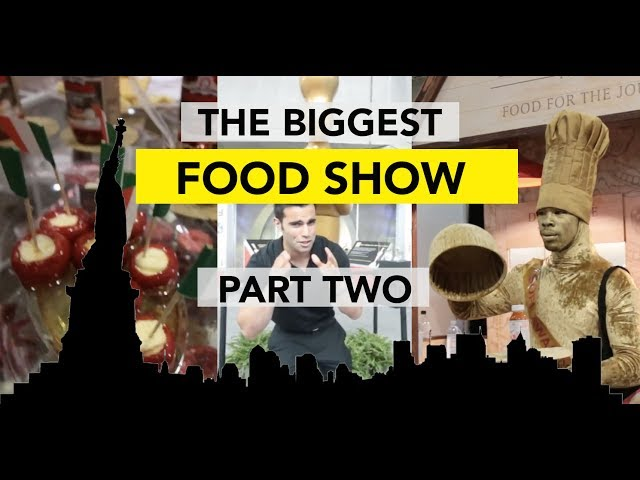 WHAT I DISCOVERED AT THE NYC FANCY FOOD SHOW