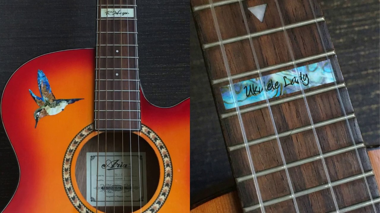 Custom-Made Fret Markers