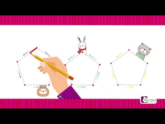 Beşgen - Beşgen Nasıl Çizilir - Okul Öncesi Eğitim