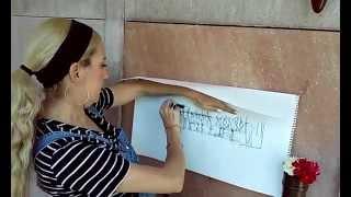 Art Rubbing of Marilyn Monroe s grave inscription (vlog)