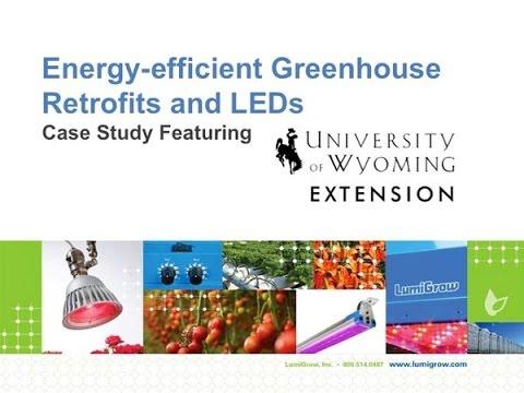 Energy-Saving Greenhouse Retrofits: University of Wyoming