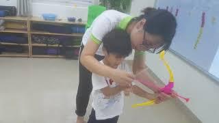Archery game - Duy, Bon, Minh - Ha5 - Ms Jenny - Tomokid
