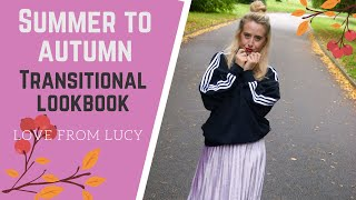 How To Style Summer Clothes For Fall | Transitional Outfit Ideas