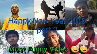 Happy New Year 2019 part 2 Most funny 😂😂