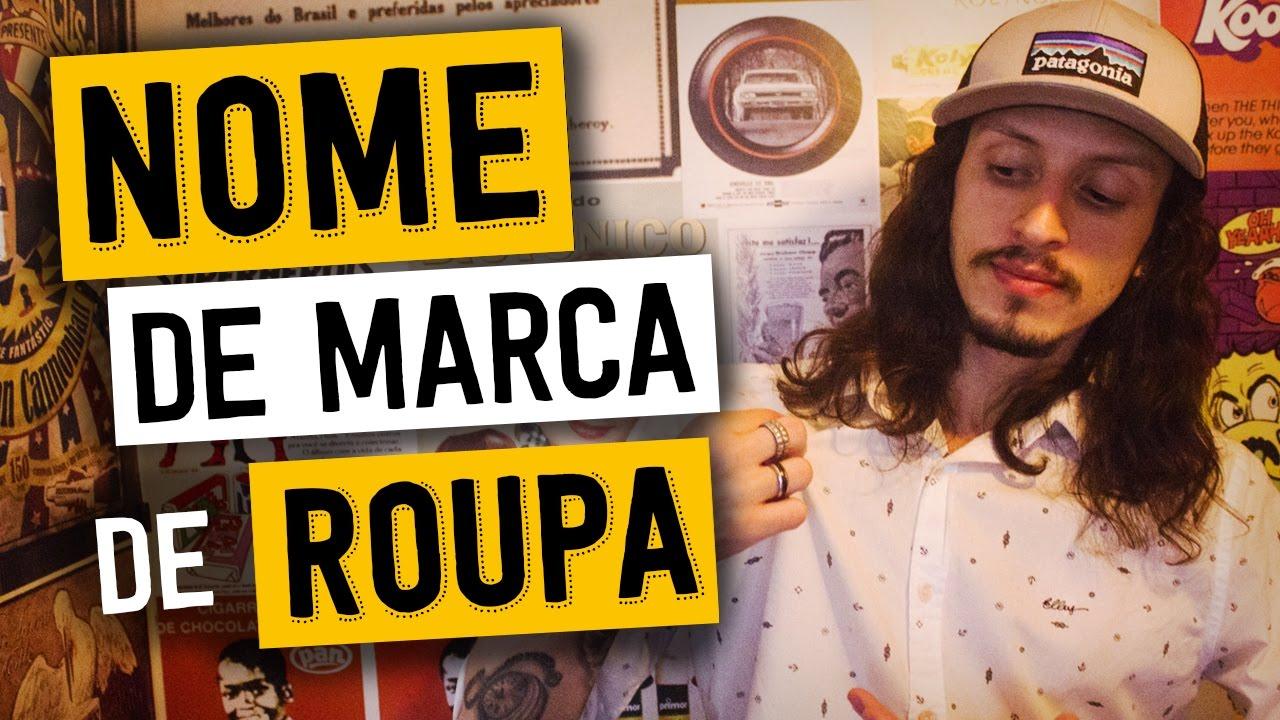 COMO CRIAR NOME DE MARCA E LOJA DE ROUPAS INESQUECÍVEL - YouTube 099faab540a