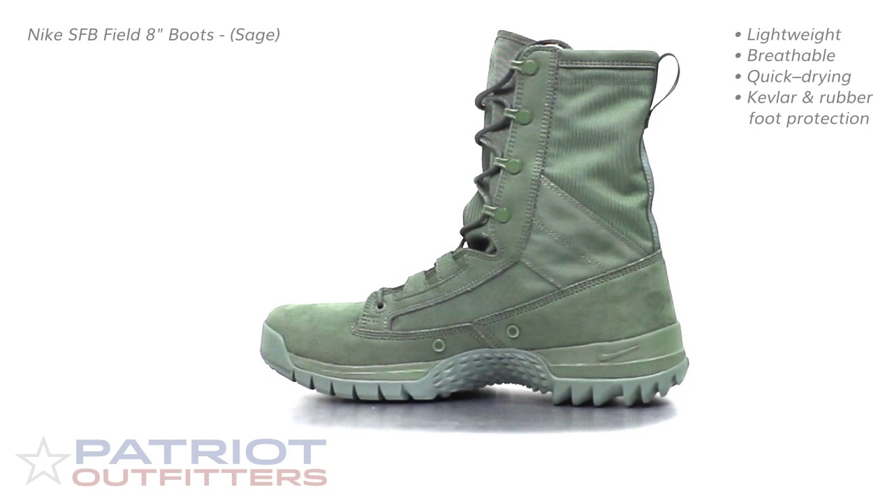 Nike SFB Field 8in Boots Sage - YouTube 1133fc7b8