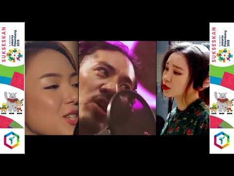 "Full Colaboration Song ""Bright As The Sun"" (Jannine W, J Fla, Hiroaki Kato) 2018 Asian Games"