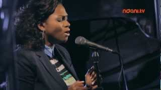 Ndani TV: Waje delivers a stellar rendition of her new single 'I Wish' on Ndani Session