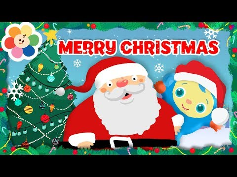 kids Christmas Songs: We Wish You a Merry Christmas | Peek A Boo Compilation  From Baby First TV