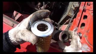 Замена масляного фильтра на москвич,двигатель 408.
