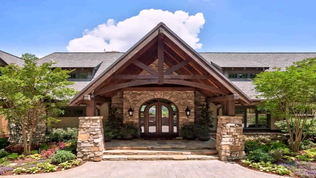 Ranch Style House Front Entrance - YouTube