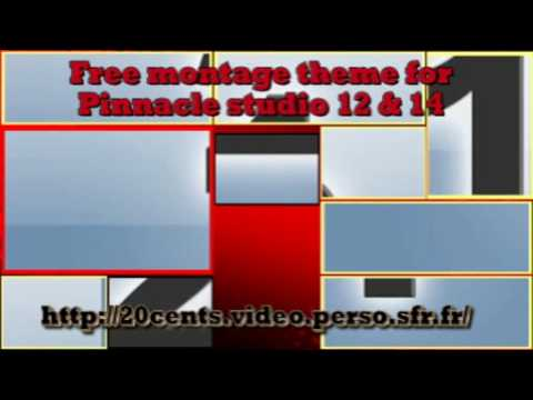 Free montage theme : Transition Klotski