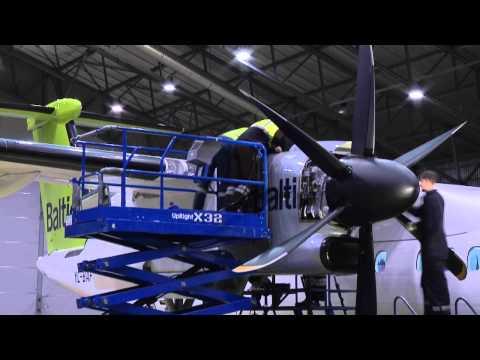 Q400 Aircraft Scheduled Maintenance