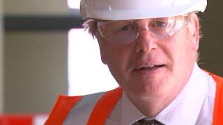 video: Boris Johnson warns of 'bumpy months' ahead for UK economy