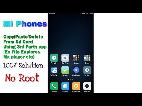 [Solved] Copy/Paste/Delete from SD Card 100% Working    Any Device SD card problem fix [Hindi]