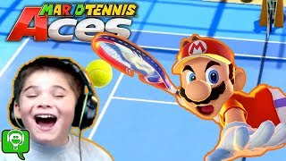 Mario Tennis Aces with HobbyKidsGaming