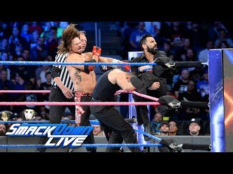 AJ Styles vs. Sunil Singh: SmackDown LIVE, Oct. 24, 2017