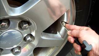 How to relearn TPMS on a 2007 GMC Yukon tire positions