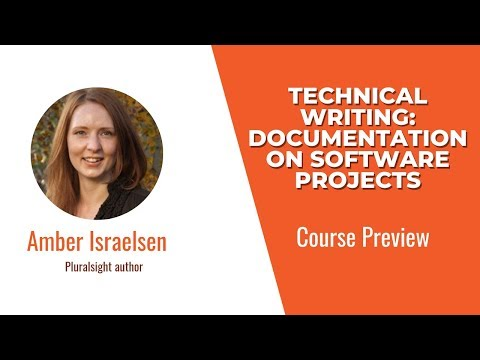 Course Preview: Technical Writing: Documentation on Software Projects