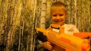 Нерф  Бластер Nerf  Обзор  Игрушки для мальчиков  Детское оружие