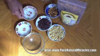 Cacao Nibs Trail Mix, Cacao Nibs Recipes And Healthy Cacao Snack - Must See For Chocolate Lovers!