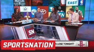 If Rockets lose Game 1 of Western Conference finals vs Warriors, 'it's a wrap' | SportsNation | ESPN