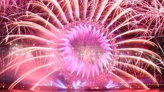 Mayor of London New Year's Eve Fireworks 2014/2015 - 31.12.2014