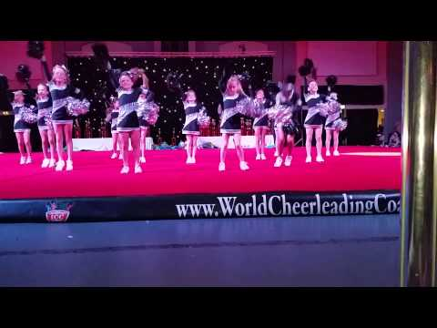 Panache Minis 2014 ICC Cheerleading Nationals Blac