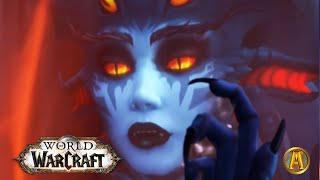 8.2 Rise of Azshara - All Cinematics & Cutscenes [WoW: Battle for Azeroth]