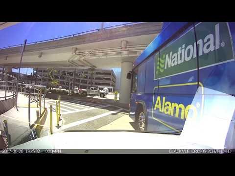 Alamo/National Bus Accident at LAX