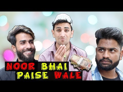 NOOR BHAI PAISE WALE    HILARIOUS COMEDY    FUNNY VIDEO BY SHEHBAAZ KHAN