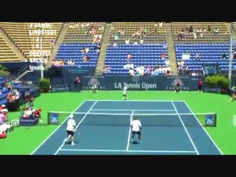 Damm & Lindstedt vs Coetzee & Erlich - Los Angeles 2009 (4 de 8)