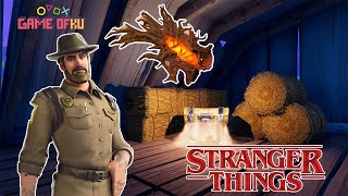 STRANGER THINGS NO FORTNITE!!! FAUSTO WALL HACK!!!