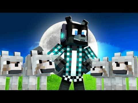 VIREI O LÍDER DOS LOBOS !! - Minecraft Lobisomem #07