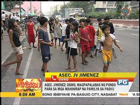 DSWD umapela vs caroling ng mga bata
