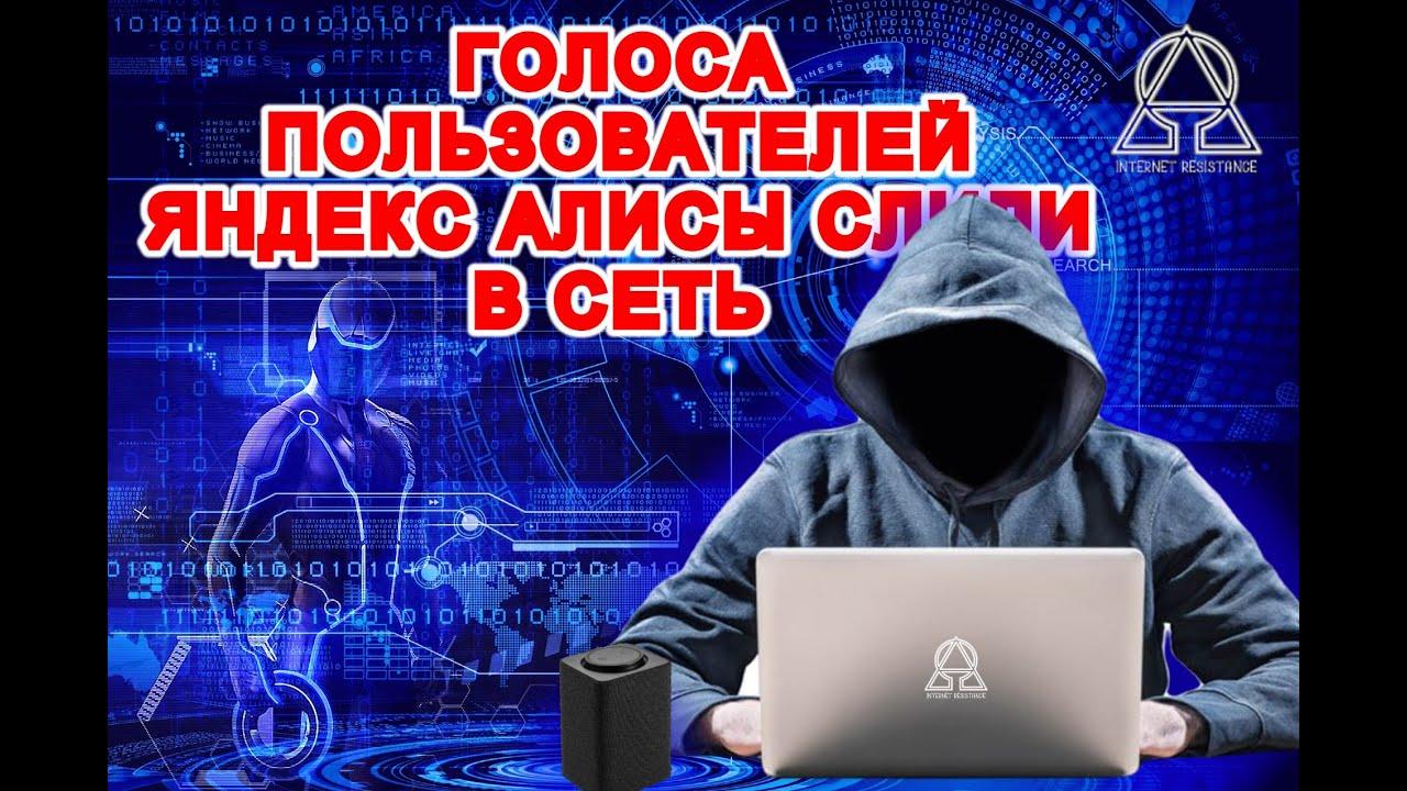 Утечка голосов пользователей Яндекс Алиса в интернет