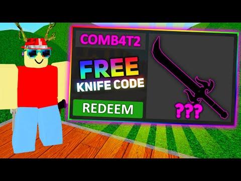 Murder Mystery 2 New Free Knife Code 2020 Youtube