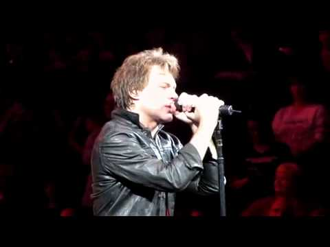 Bed of Roses -  Bon Jovi  United Centre Chicago 09 March 2011