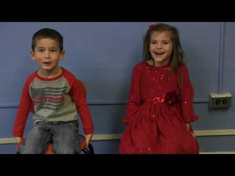 Ayersville Elementary School students talk Christmas 2016
