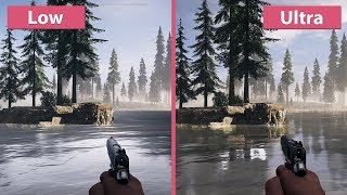 [4K] Far Cry 5 – PC Low vs. Ultra Graphics Comparison + Frame Rate