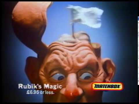 Matchbox Rubik's magic TV commercial